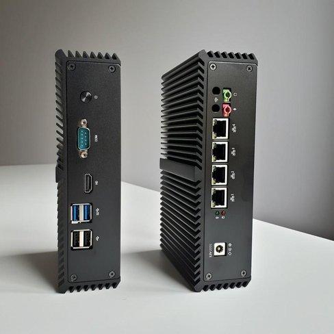 TLSense i7: 4x Gigabit LAN, Intel i7 CPU, 60GB SSD, 8GB RAM